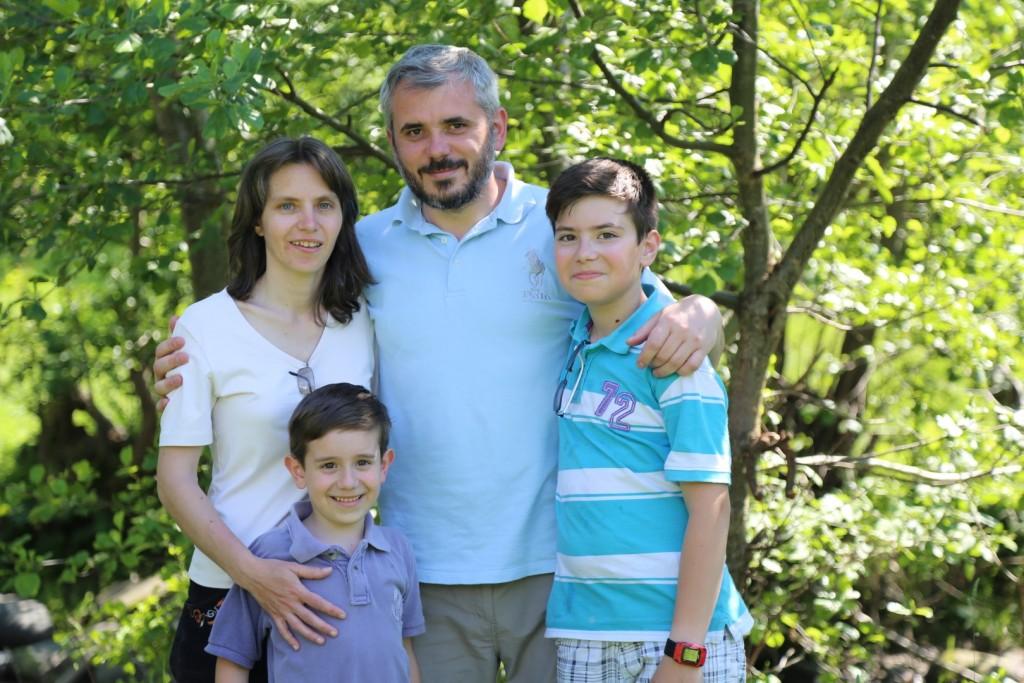 Teofil Gavril si familia